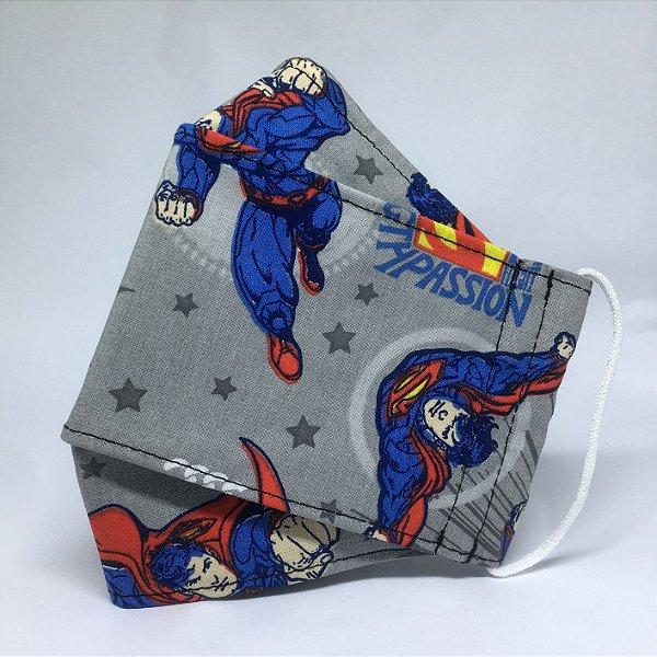 Máscara 3D Superman - Tripla Camada
