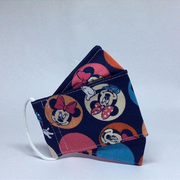 Máscara 3D Infantil da Minnie - Tripla Camada