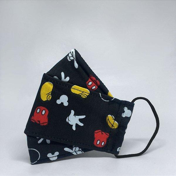 Máscara 3D Infantil do Mickey - Tripla Camada