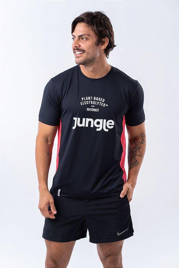 Camiseta Jungle Dry fit - Vermelho
