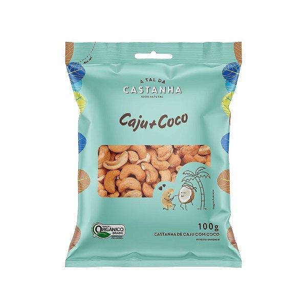 Castanhas Orgânicas com Coco 100g