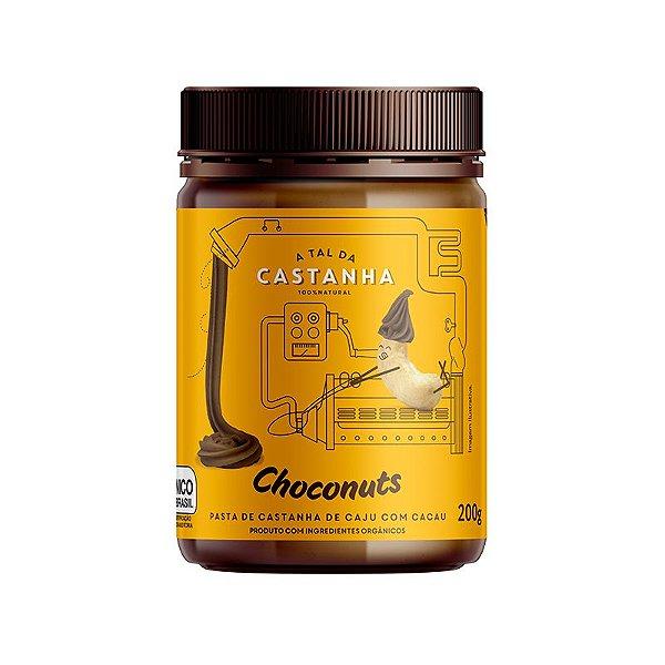 Pasta de Castanha Orgânica Choconuts 200g