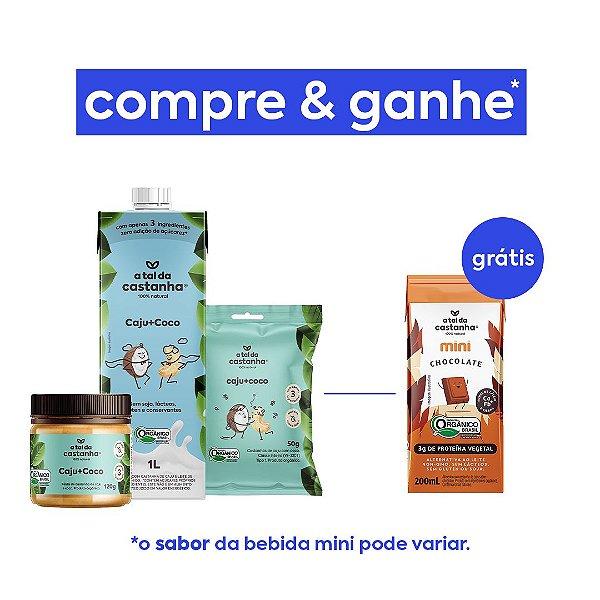 Promoção Compre Combo Caju+Coco e Ganhe Bebida Mini