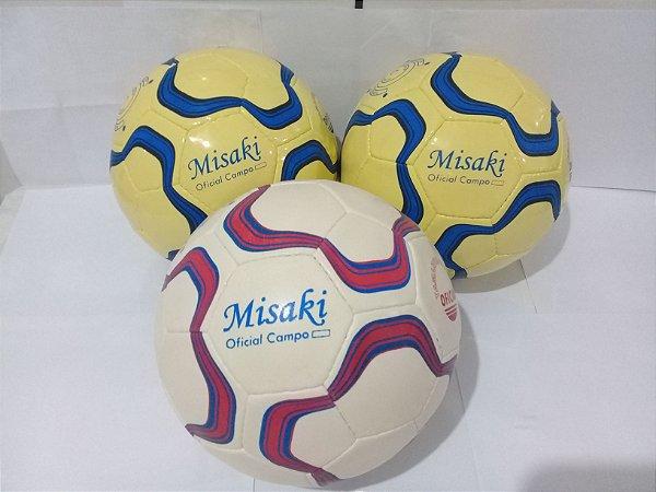 Bola de futebol de campo Misaki Costurada à mão - Comercial Águia ... 46aba76c40dbe