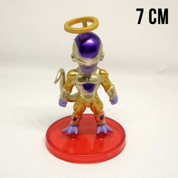 Miniatura Dragon Ball Super Freeza Dourado