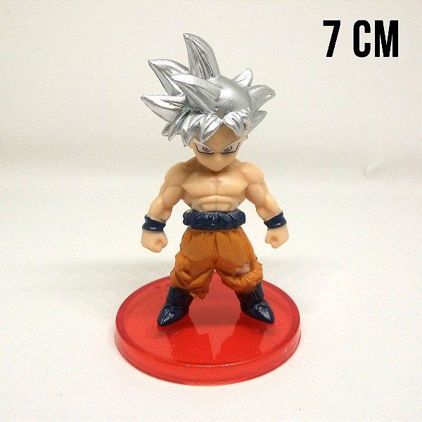 Miniatura Dragon Ball Super Goku Instinto Superior Completo