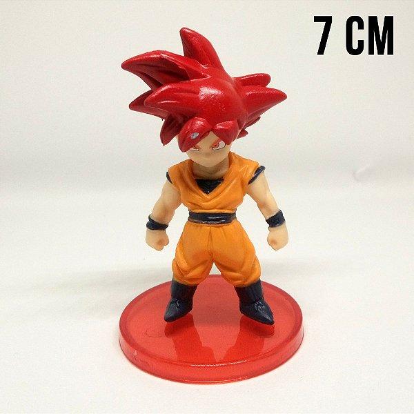 Miniatura Dragon Ball Super Goku Super Saiyajin God