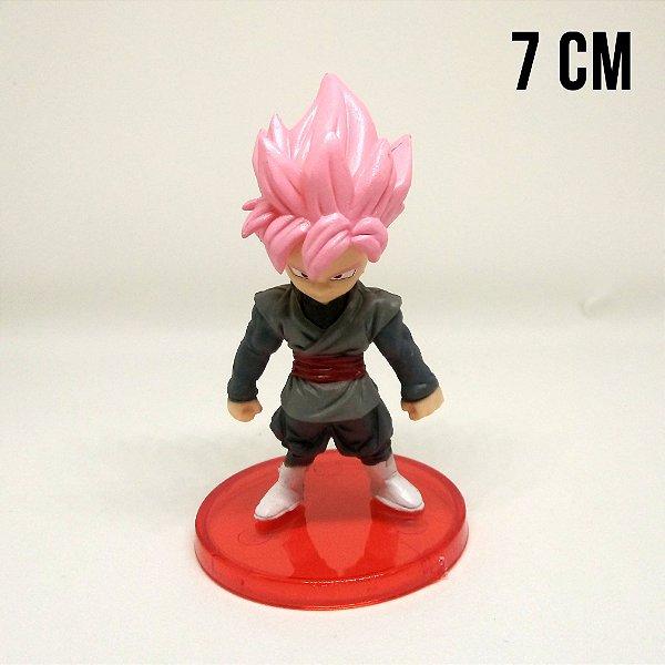Miniatura Dragon Ball Super Goku Black Super Saiyajin Rosé