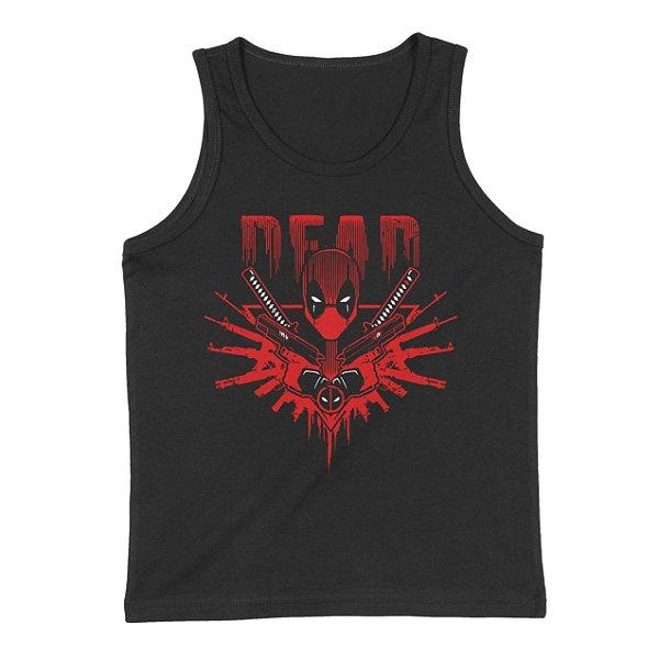 Regata Deadpool Senhor das Armas