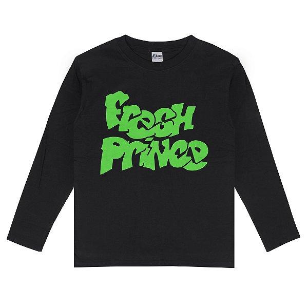 Camiseta Manga Longa Fresh Prince