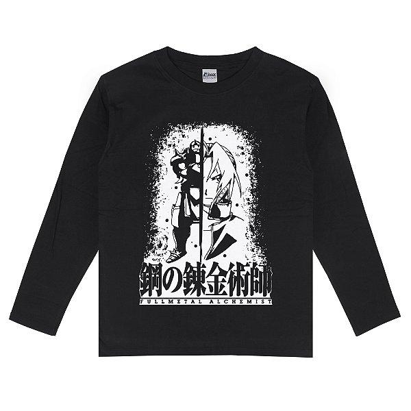 Camiseta Manga Longa Fullmetal Alchemist