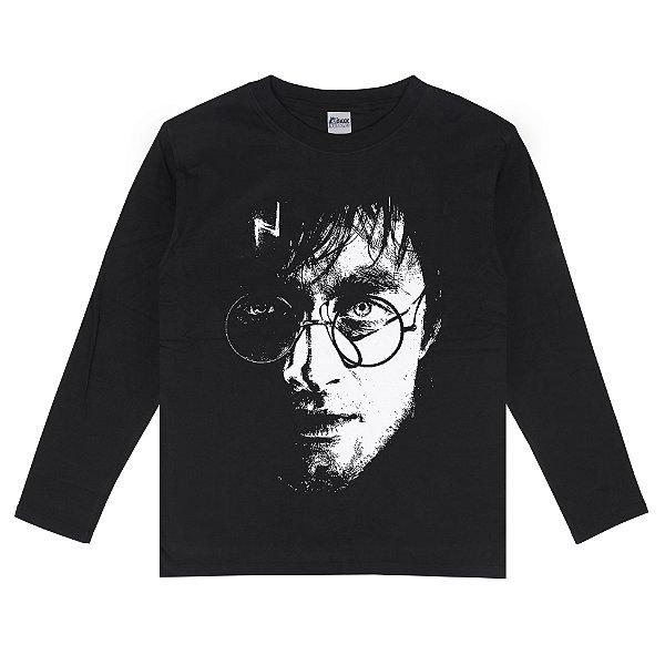 Camiseta Manga Longa Harry Potter