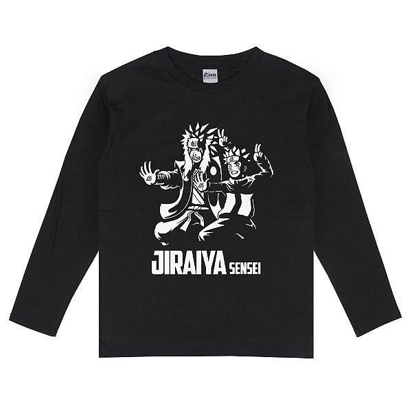 Camiseta Manga Longa Jiraiya Sensei