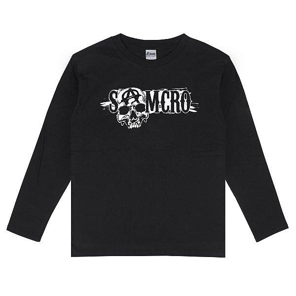 Camiseta Manga Longa SAMCRO