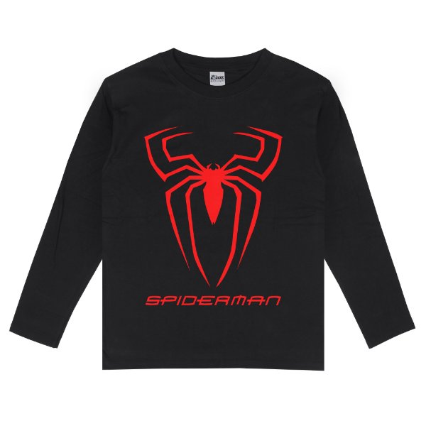 Camiseta Manga Longa Spiderman