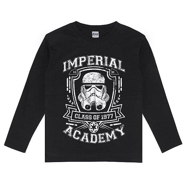 Camiseta Manga Longa Imperial Academy