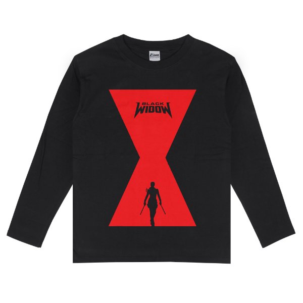 Camiseta Manga Longa Viúva Negra