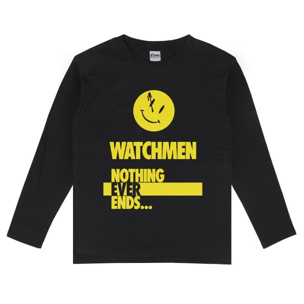 Camiseta Manga Longa Watchmen