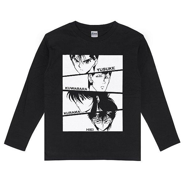 Camiseta Manga Longa Yu Yu Hakusho