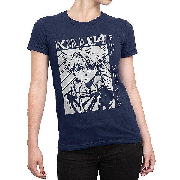 Camiseta Hunter x Hunter Killua Feminina