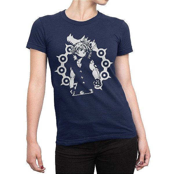 Camiseta Meliodas Nanatsu no Taizai Feminina