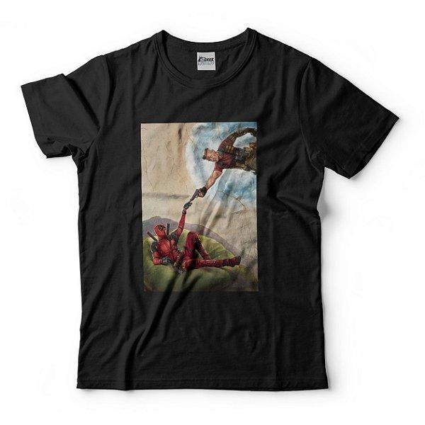 Camiseta Deadpool A Criação de Adão