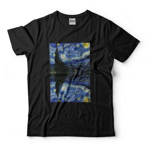 Camiseta A Noite Estrelada Vincent Van Gogh