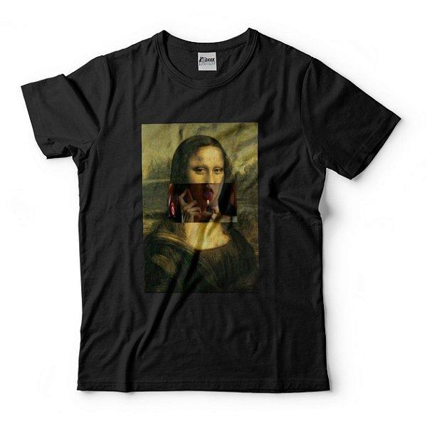 Camiseta Monalisa Megan Fox Isqueiro Garota Infernal