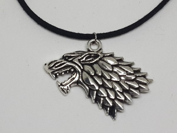 Cordão Game Of Thrones Brasão Stark