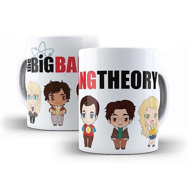 Caneca The Big Bang Theory Caricatura Kids