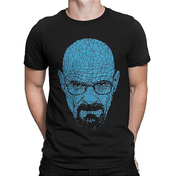 795c344d815c8 Camiseta Breaking Bad Heisenberg Cristais - Inverno Geek - Camisetas ...