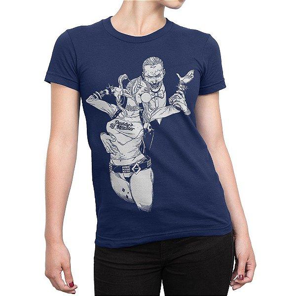 20697e7a5d16a Camiseta Coringa e Arlequina Esquadrão Suicida - Inverno Geek ...