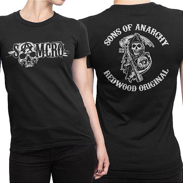 Camiseta SAMCRO Feminina