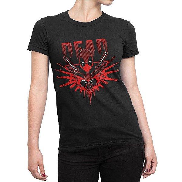 Camiseta Deadpool Senhor das Armas Feminina