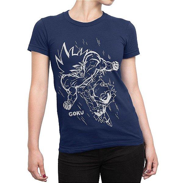 Camiseta Goku Feminina