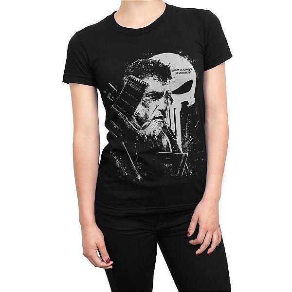 Camiseta O Justiceiro The Punisher Feminina