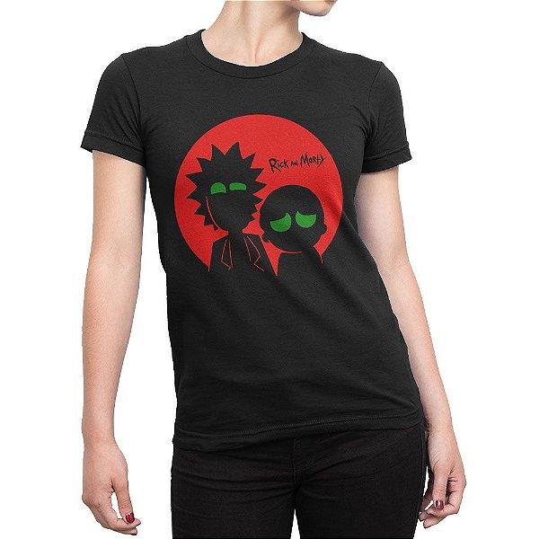 Camiseta Rick and Morty Feminina