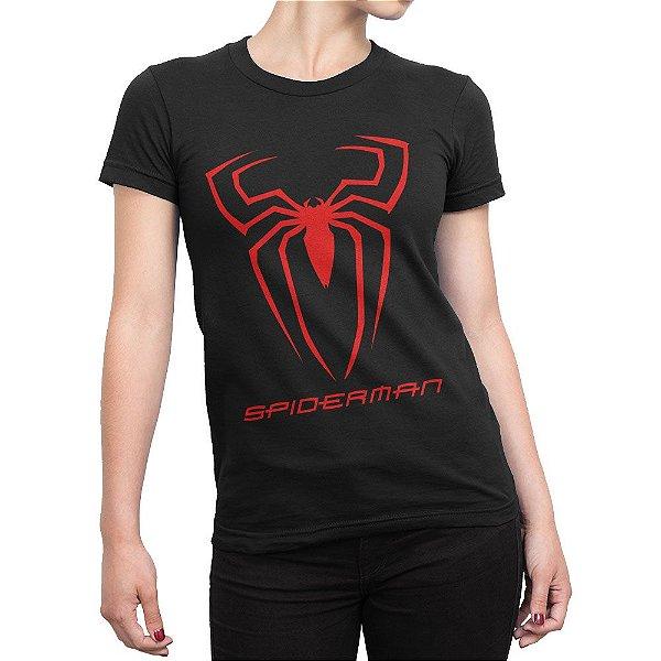 Camiseta Spiderman Feminina