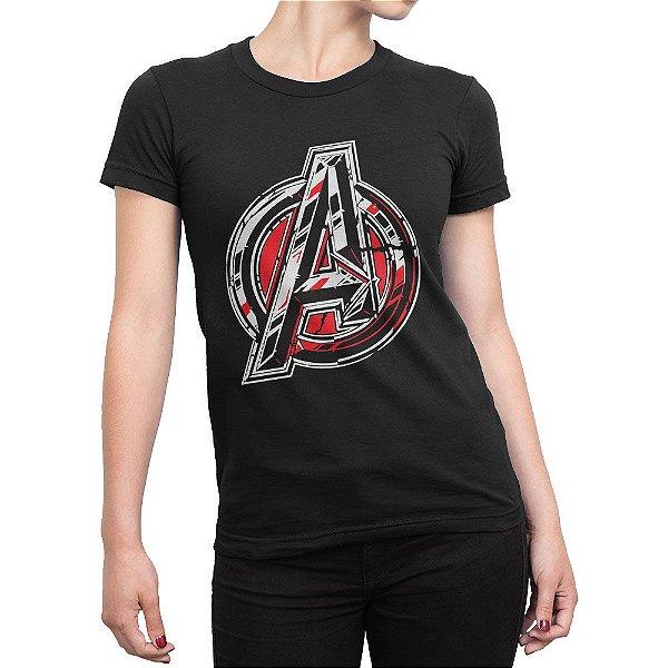 Camiseta Avengers Feminina