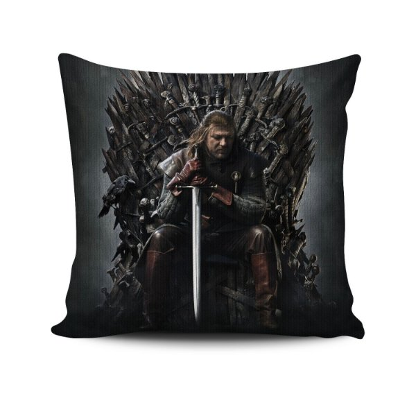 Almofada Game Of Thrones Trono de Ferro Ned Stark