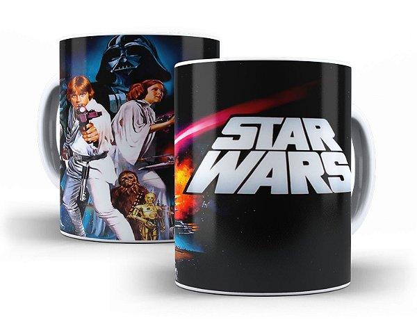 Caneca Star Wars: Episódio IV - Uma Nova Esperança 1977