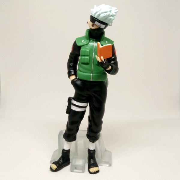 Action Figure Kakashi Hatake Livro Naruto Boneco