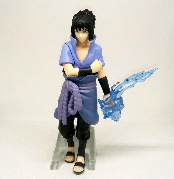 Action Figure Sasuke Uchiha Sharingan Chidori Naruto Boneco