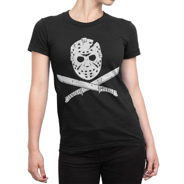 Camiseta Jason Sexta-Feira 13 Feminina