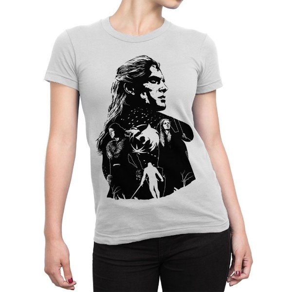 Camiseta The Witcher Séries Feminina