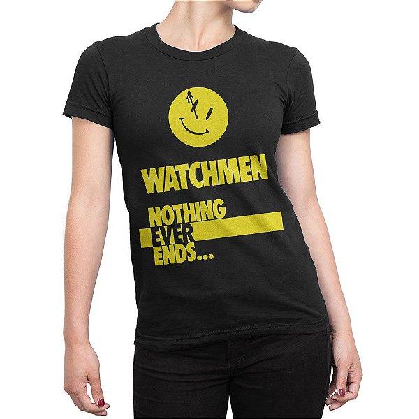 Camiseta Watchmen Feminina