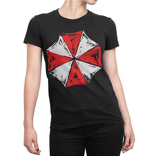 Camiseta Umbrella Corporation Resident Evil Feminina