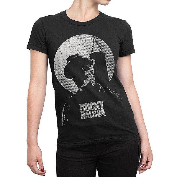 Camiseta Rocky Balboa Feminina