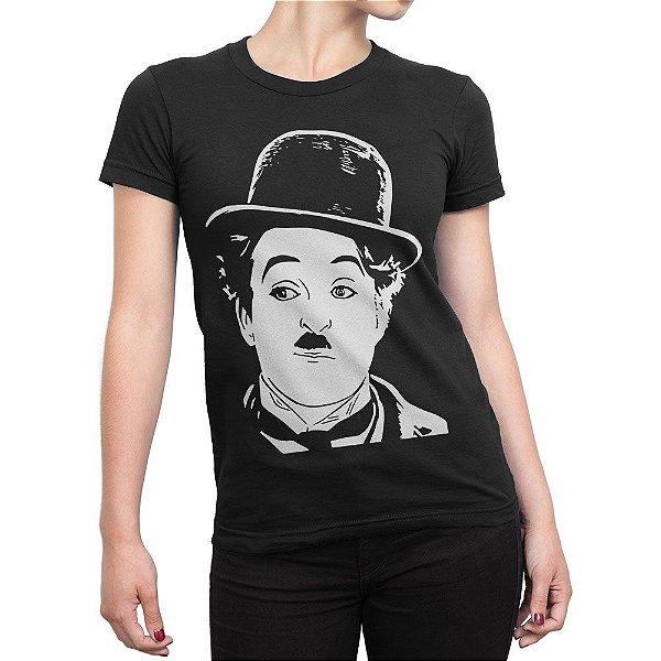 Camiseta Charlie Chaplin Feminina