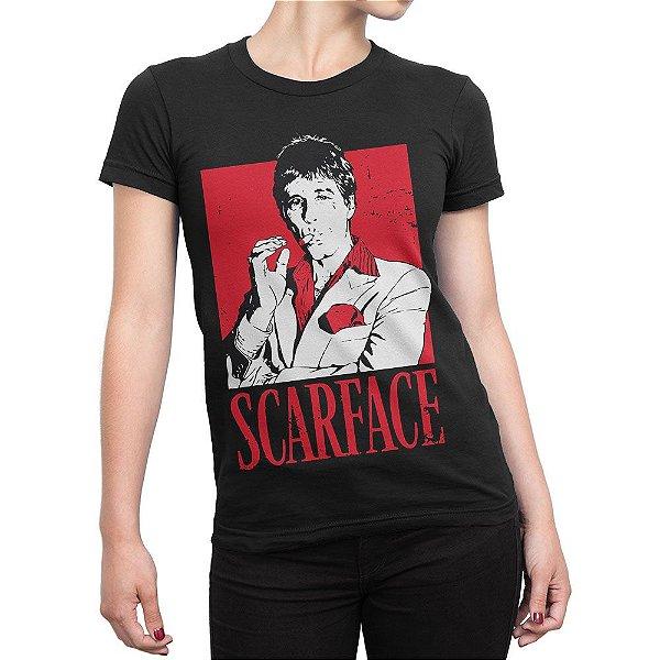 Camiseta Scarface Feminina